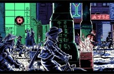 """Back in print for the first time! """"If Only You Could See What I've Seen"""" Blade Runner inspired print!"""