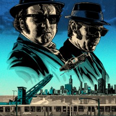 BLUES BROTHERS print for Galerie F in Chicago!