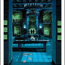KUBRICK SpokeArt show- SHINING print by Doyle
