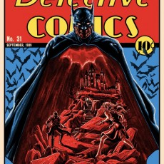 DETECTIVE COMICS 31 print by Doyle!