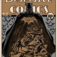 Batman- Detective Comics print by Tim Doyle- now on sale!