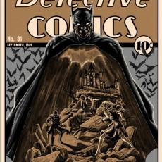 Batman- Detective Comics print by Tim Doyle- now on sale!