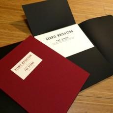 Bernie Wrightson's THE STAND letterpress portfolio- on sale info!