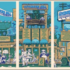 Governor's Ball 2015 GigPoster by Doyle- now available!