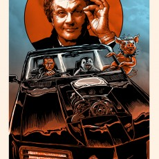 Mad Max/ George Miller poster by Doyle and Budich for EL REY!