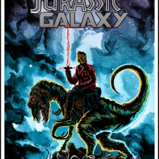 """Drunken Promises"" Jurassic Galaxy- new edition now available!"