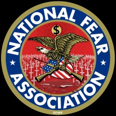 NATIONAL FEAR ASSOCIATION T-SHIRT BY EMEK!