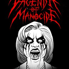 """VAGENDA OF MANOCIDE"" print and shirts by Robert Wilson IV!"