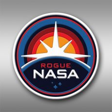 ROGUE NASA pins and crew patches!