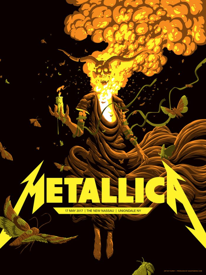 Image result for metallica uniondale poster