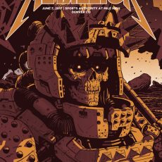 NAKATOMI x METALLICA- Denver by Laurie Greasley!
