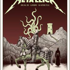 Metallica x Nakatomi- SAN ANTONIO by Tyler Skaggs!