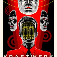 KRAFTWERK by Doyle for Flood Gallery UK!