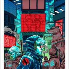 3 new Sci-Fi prints by Doyle!