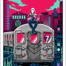 NYCC prints-now available- SPIDER-GWEN! BJORK! DAFT PUNK!