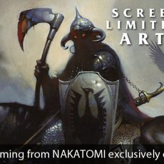 NAKATOMI x FRAZETTA- Kickstarter project launching 10/17 at NOON Central.