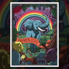 PRIMUS- Fall tour Wood/Foil Variants by FLOREY!