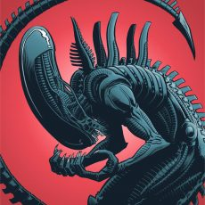 XENOMORPH / QUEEN prints by Rober Wilson IV!