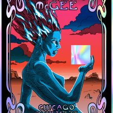 Umphrey's McGee CHICAGO foil by Doyle- On Sale info