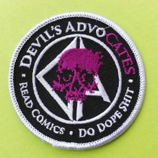 Devils AdvoCATES embroiderd Patches are HERE!