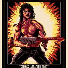 WEIRD AL- Dallas poster by Doyle!