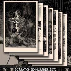 Bernie Wrightson's Frankenstein Suite #3- On Sale Info!