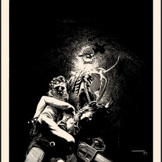 """In time for Halloween! """"Dark as a Dungeon"""" art print by Wrightson!"""