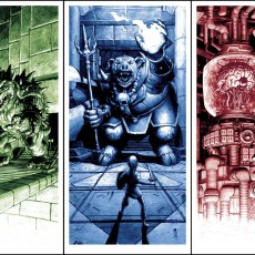 BOSS FIGHT- print set by Nick Derington- on sale 1/13 at 2pm!