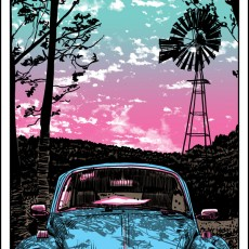 """CLASSIC"" VW bug art print by Doyle!"
