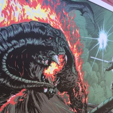 """SHADOWFLAME"" by Mark Lone- 18×36 regular and FOIL on sale tomorrow!"