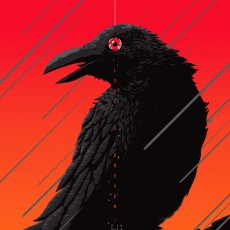 "THE CROW- ""Love is Forever"" by Florey- On sale TUESDAY!"