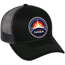 RogueNASA Hats+Stickers and the return of patches and pins!