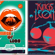 Kings of Leon- VIP posters Now Available!