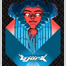 BJORK- Homogenic 20th Anniversary poster by Doyle!