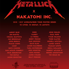 Metallica series kick-off in 2 weeks! Follow us on Twitter for updates!