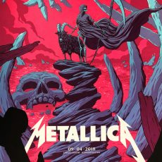 METALLICA 9/4 Minneapolis print by FLOREY!