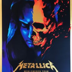 METALLICA- 9/6 Lincoln print by JOSH BUDICH!