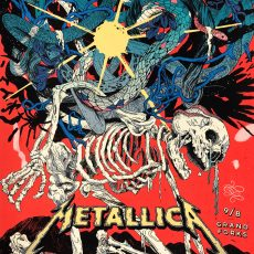 METALLICA- 9/8 Grand Forks print by Yin Shian Ng!