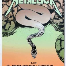 METALLICA- Cleveland by Paul Pope!