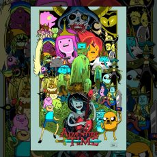ADVENTURE TIME print by Doyle!