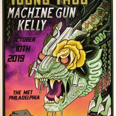 Young Thug / Machine Gun Kelly by Ian Bederman!