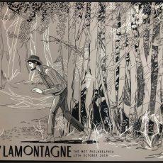 Ray LaMontagne gigposter by Shian Ng!